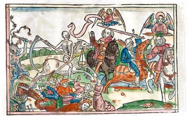 Four Horsemen of the Apocalypse, Biblia Dudesch, 1522