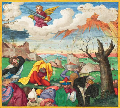 The Bowls of God's Wrath – Revelation 16:1-12
