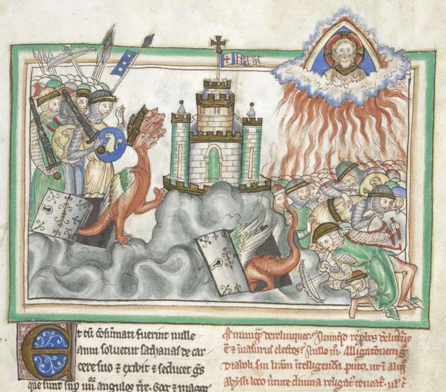 Satan attacks Jerusalem