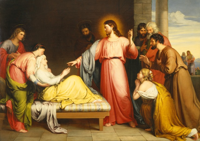 Christ Healing Peter's Mother in law, John Bridges