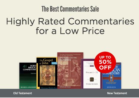 Logos Commentary Sale