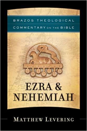 Levering Brazos Ezra Nehemiah