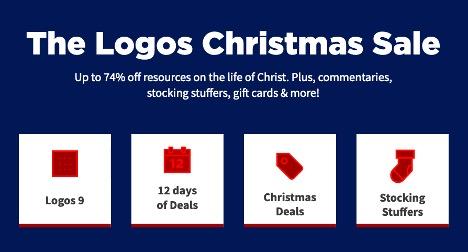 Logos Christmas Sale 2020